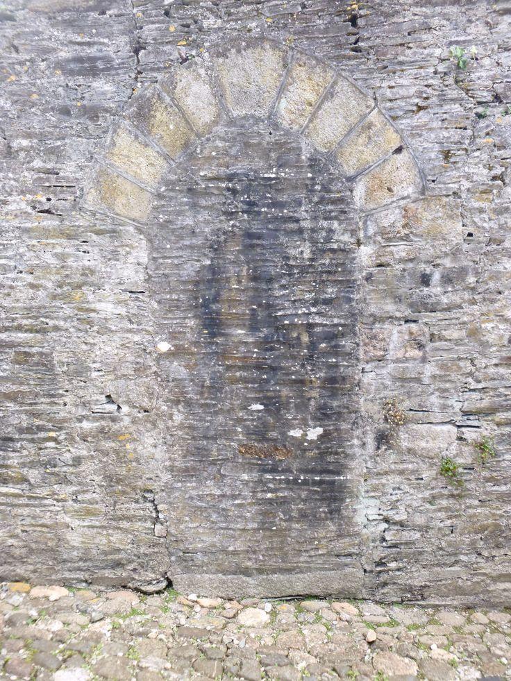 Buckland Abbey ex-door
