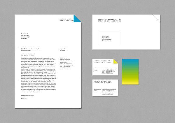 Corporate Identity für die Deutsche Akademie für Sprache und Dichtung
