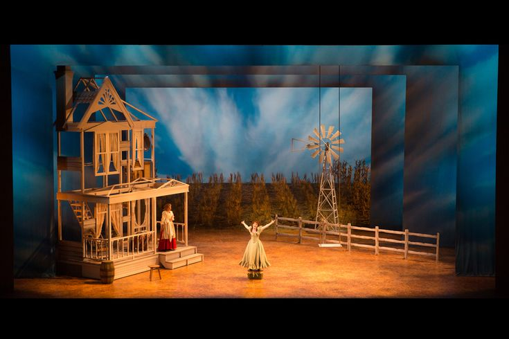 Oklahoma Indiana University Scenic Design By Steven C