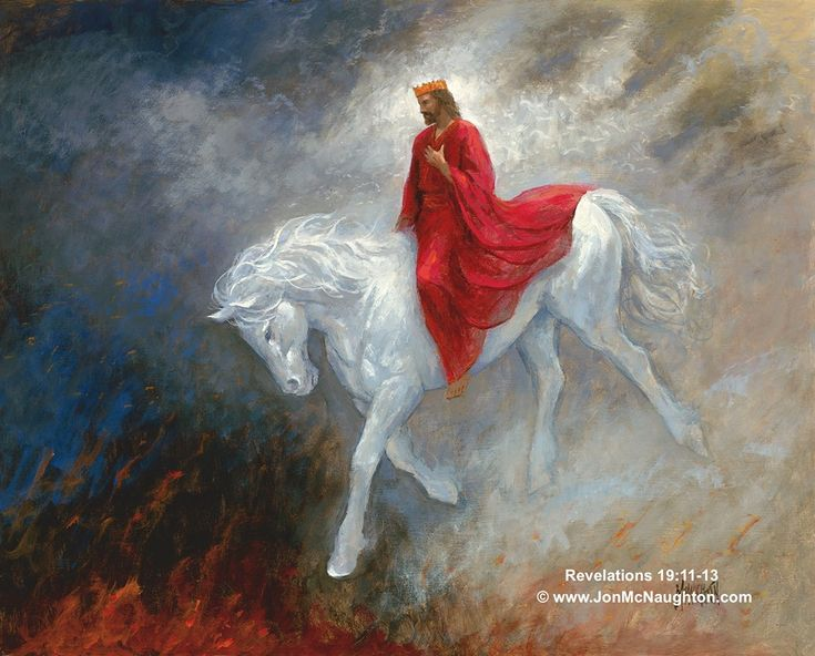 Artist Painting Jesus Ascension
