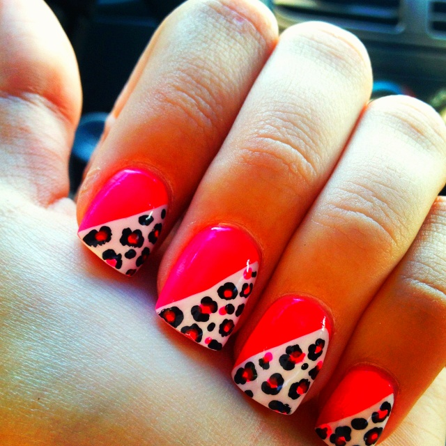 Cheetah Print Nails Nail Art I Would Like To Try Pinterest Cheetahs And Printing