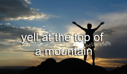 Just climbing to the top would be an achievement at the moment!