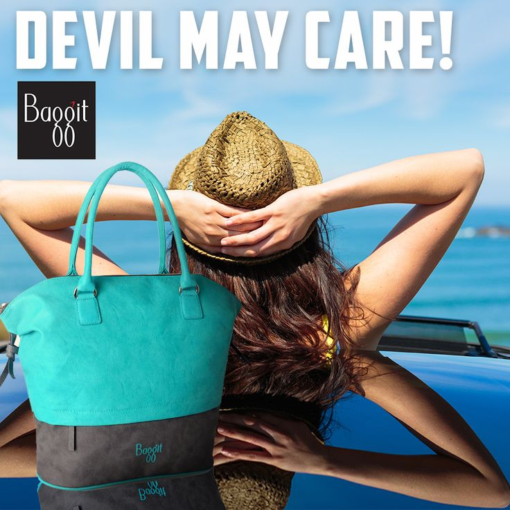 A bag to effortlessly pull off that devil-may-care attitude!