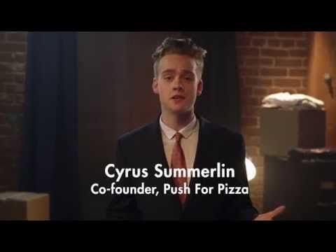 Push For Pizza, The Easiest Way To Order Pizza Ever. - YouTube