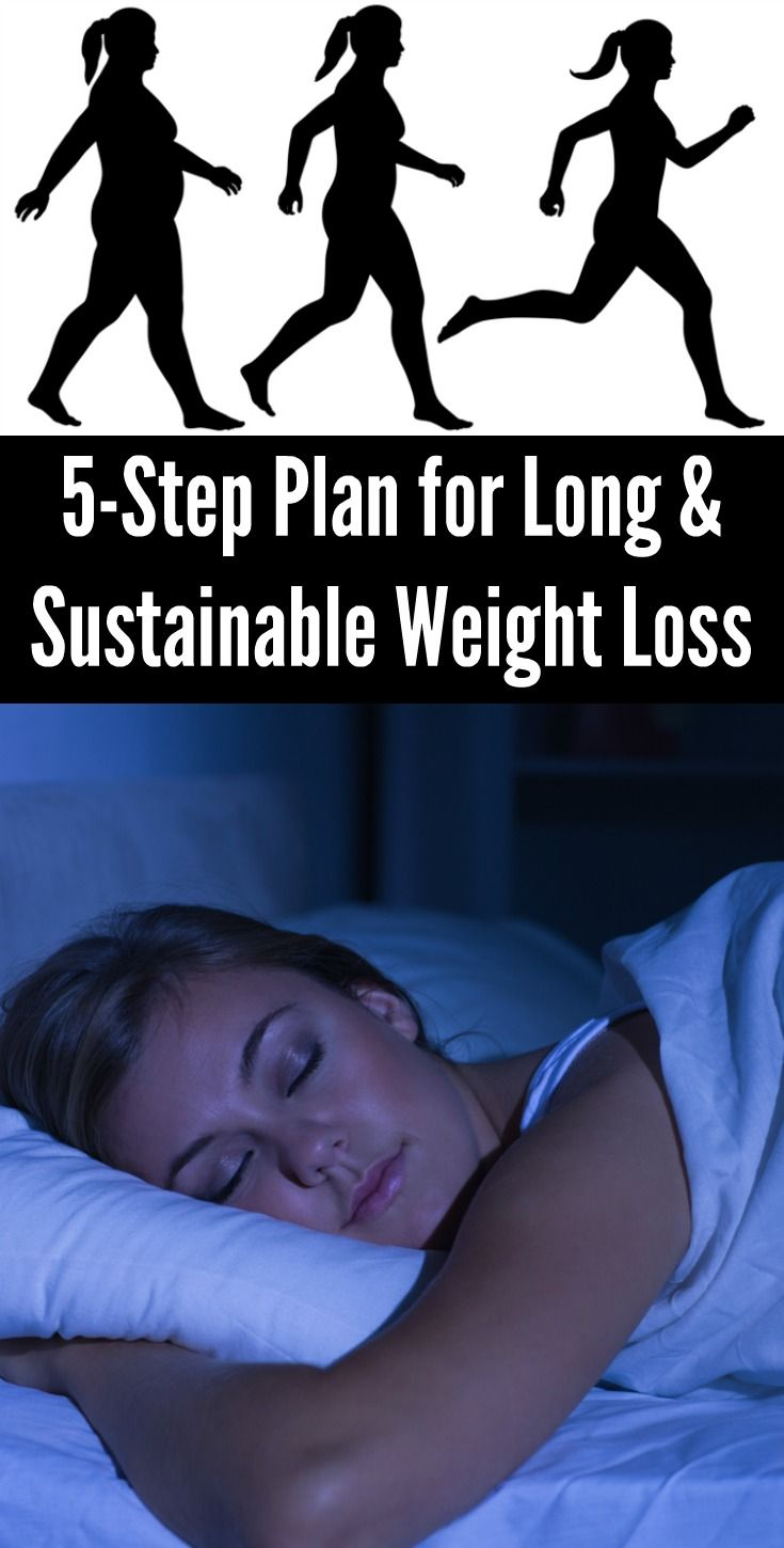 5-Step Plan for Long & Sustainable Weight Loss