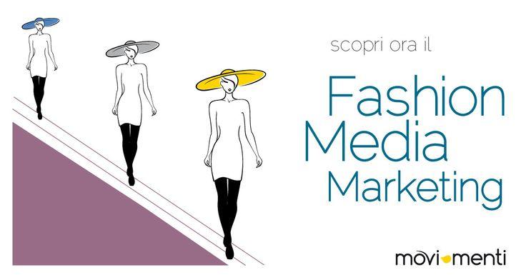La campagna  per il Fashion Media Marketing interpretato da Marialucia Pellicano per movi-menti