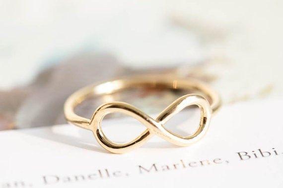 Eheringe - Unendlichkeit Knöchel Ring Für immer Sehr Gold - ein Designerstück von Rainbowdeam bei DaWanda
