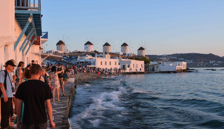 Mykonos Town or Chora as the locals call it! via @revealgreece