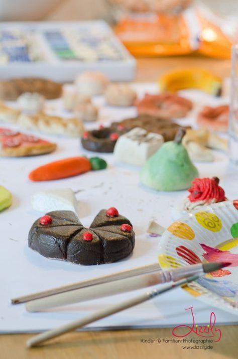 Salzeig Ideen für Kinder: Mit Salzteig basteln und Kaufladen Kuchen, Obst selber machen!
