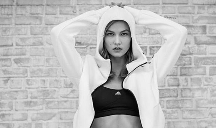 Ad Campaign for adidas Z.N.E Fall 2016 Online #karliekloss #adidas #supermodel #klossy #kodewithklossy