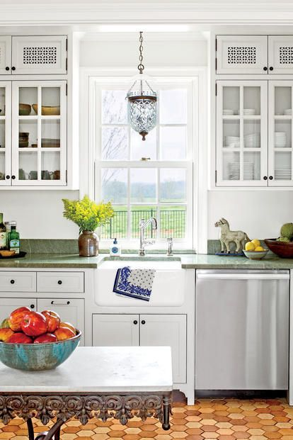 Transform your kitchen into a more inviting, laid-back space with ideas from our favorite cottage-style designs. Kitchens are the heart of a home. It is where families gather, where meals are shared, and often where memories are made. These cottage kitchens showcase our best cottage kitchen ideas. From unified color schemes to bold and bright kitchens defined by color and pattern, our editors highlight the best cottage kitchen ideas that will transform a kitchen from mundane to magnificent…