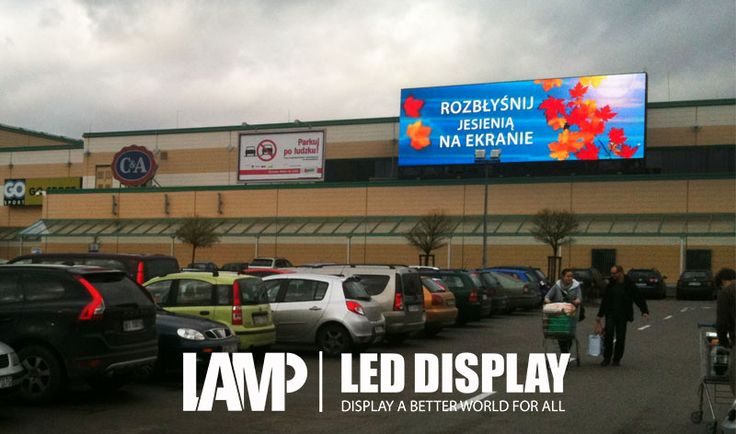 The outdoor ads require higher brightness and higher waterproof level for led screens than the indoor ads do. No matter it is in wind, under sunburn, in storm or thunder,