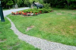 Image: French drain with gravel. - David Beaulieu
