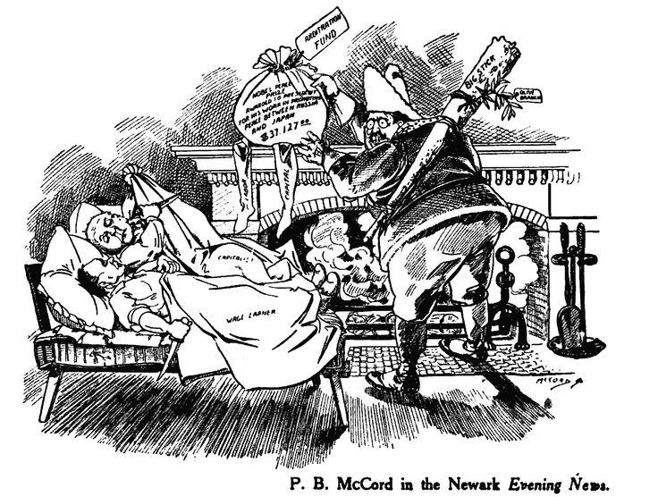 Theodore Roosevelt Meat Scandal Cartoon