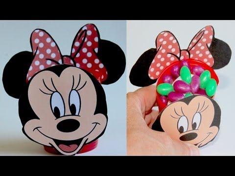 Ideas para fiesta de mickey mouse o minnie manualidades - Manualidades minnie mouse ...