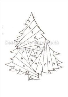 25 best iris folding - Christmas trees/greenery images on ...