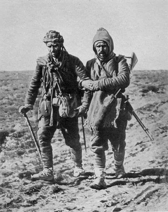Second Balkan War Turkish and Bulgarian Soldiers