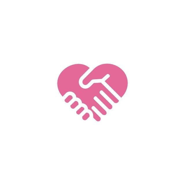 Love Handshake Logo Design Icon Vector Handshake Icons Logo Icons Love Icons Png And Vector With Transparent Background For Free Download Handshake Logo Logo Design Icon Design