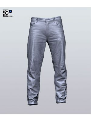 Regular Jeans Trousers 04 Scan