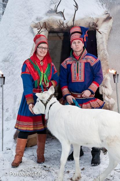 Saami Reindeer farmers in Rovaniemi, Finland | Poroajelut.fi
