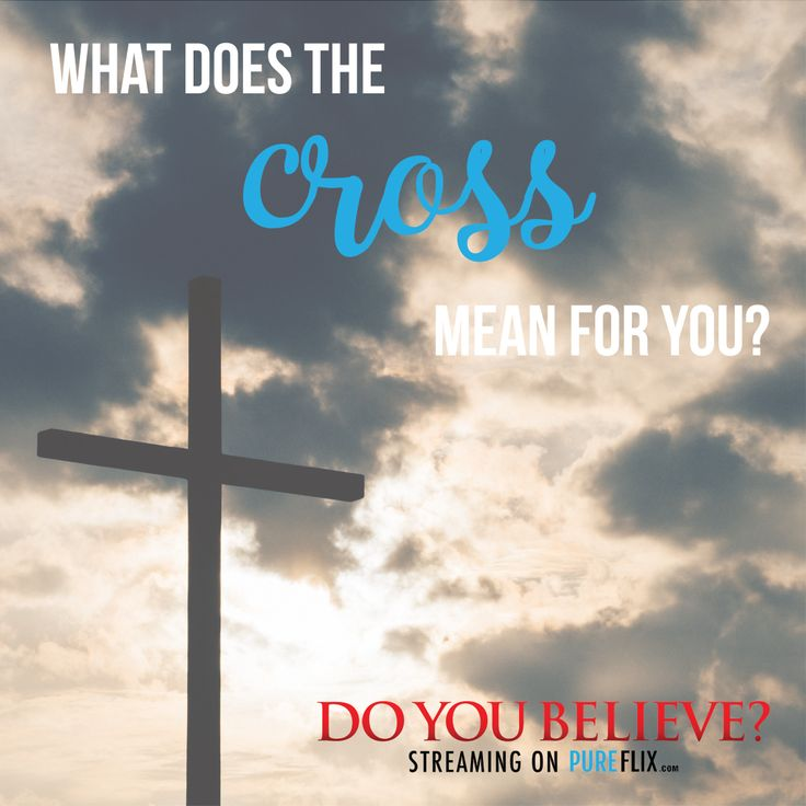 What does the cross mean for you? Share with us in the comments!