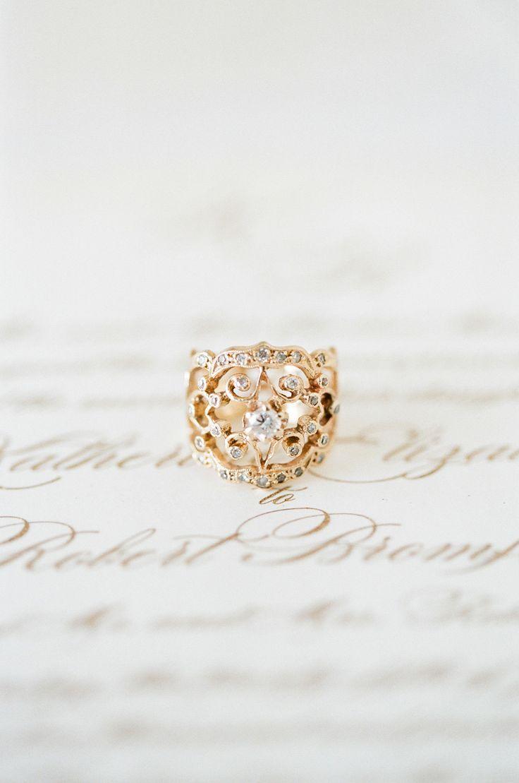 Winter Elegance – Winter Wedding Inspiration In Coffee & Gold Cheap  Engagement Ringsunique