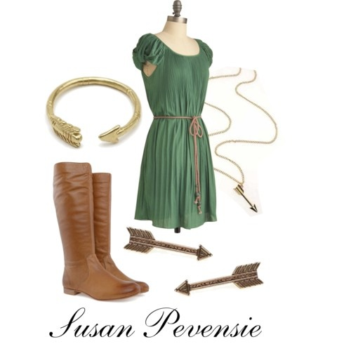 Inspired by Susan Pevensie from the Chronicles of Narnia