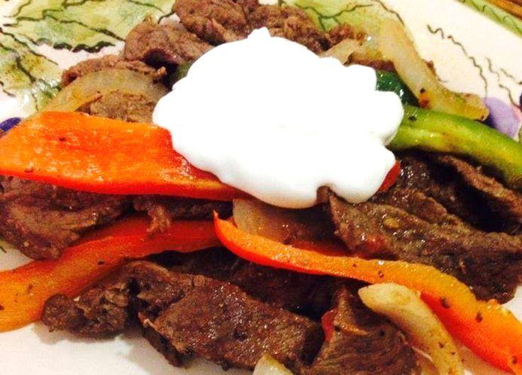 Beef Fajitas | Fajitas de res | Recetas Mexicanas