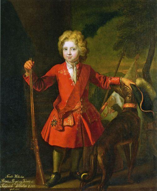 1701 Samuel Theodor Gericke - Friedrich Wilhelm I