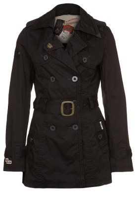 VENECIA - Trenchcoat - black