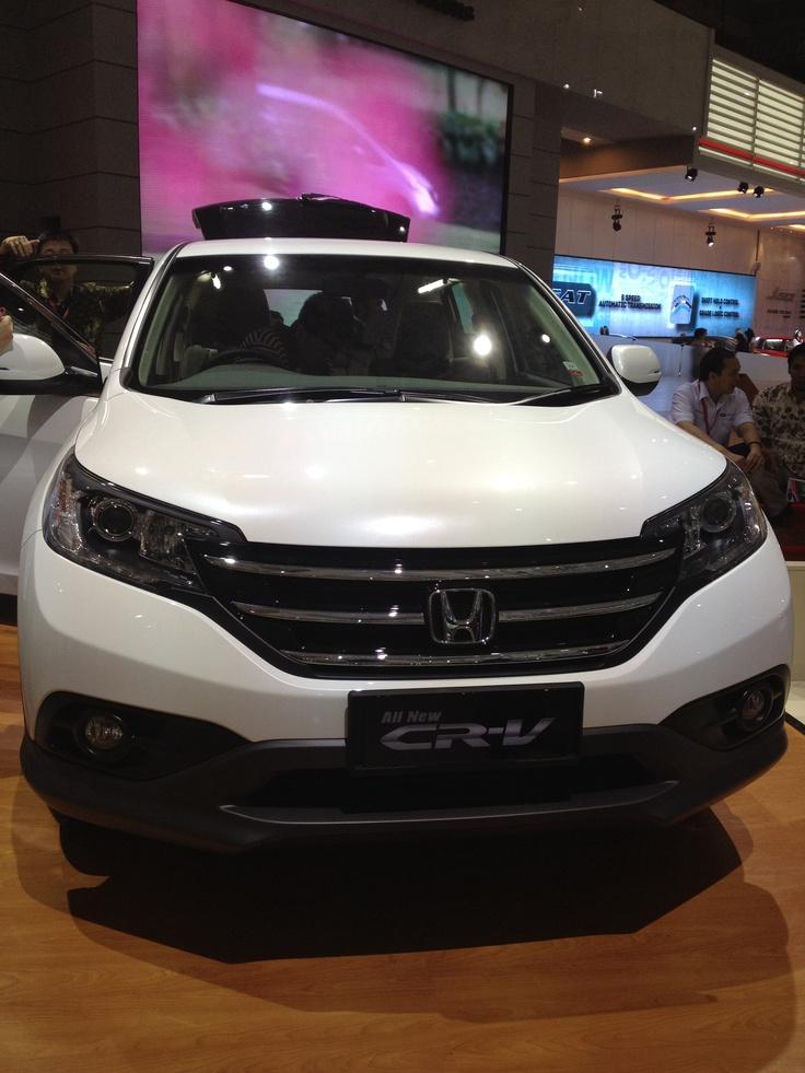 All new CRV 2012