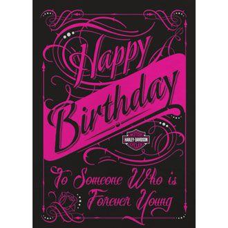 Harley Davidson Birthday Cards For Facebook