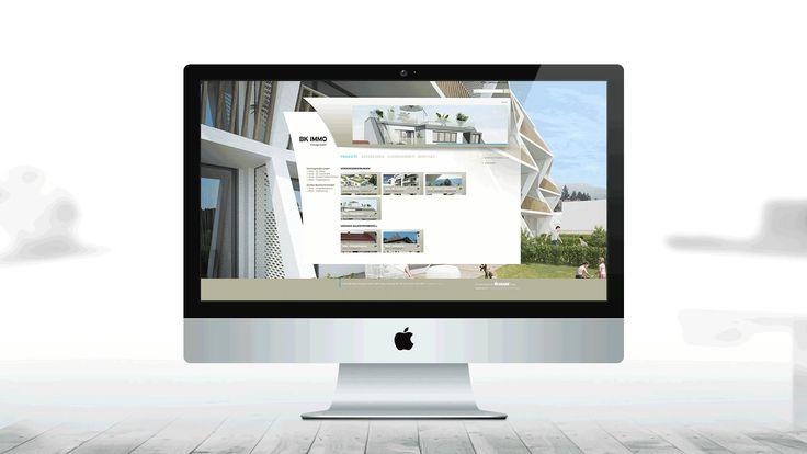 BK IMMO | Imagefolder, Slogan, Webdesign, Responsive Design by Big Pen