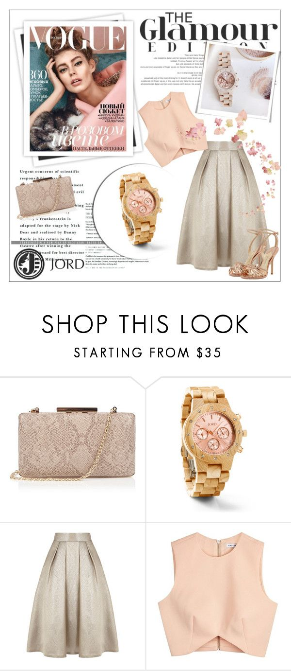 """""""Holiday wish list: JORD Wood Watch"""" by aurora-australis ❤ liked on Polyvore featuring Oasis, GALA, Coast, Finders Keepers, Paul Andrew, watches, jordwatch, jord and auroraaustralis"""