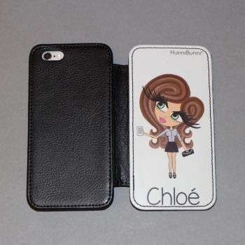 HunniBunni Babes Personalised Flip Phone Case 2
