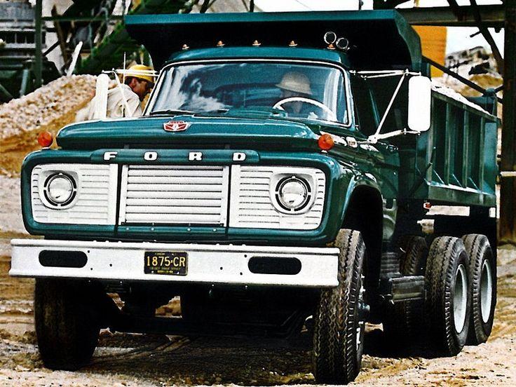 1968 Ford Truck | Ford T-Series Tandem Dump Truck '1968–????