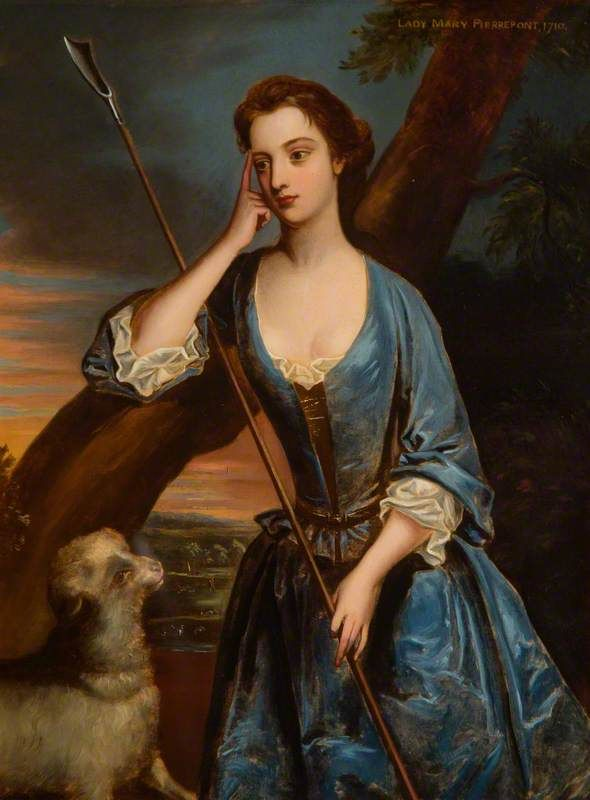 Godfrey Kneller (1646–1723) (after) Lady Mary Pierrepont, Later Wortley Montagu