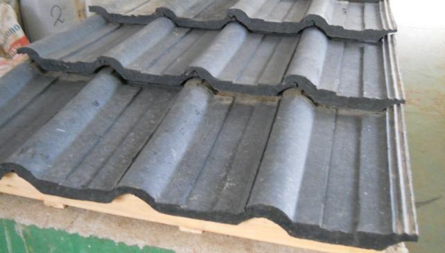 El desarrollo de las tejas de caucho recicladas aún está en etapa de investigación.