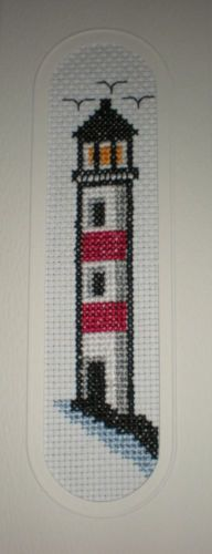 Light House Counted Cross Stitch Bookmark Kit