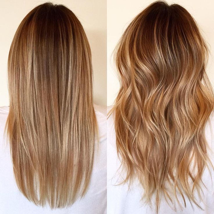 image result for balayage hair brown gold straight hair