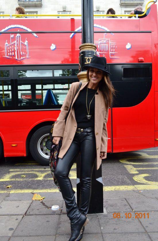 Tras la pista de Paula Echevarría » London tour