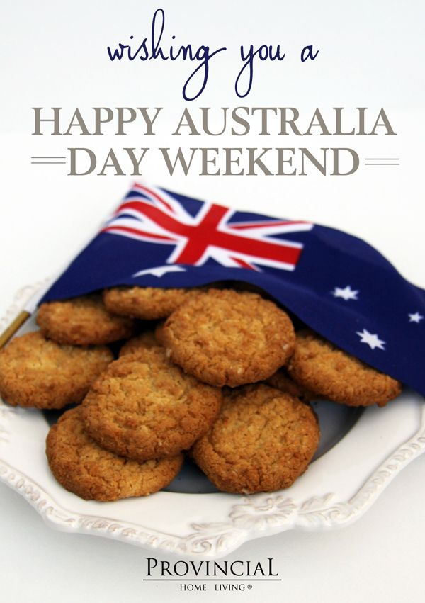 Happy Australia Day Weekend!