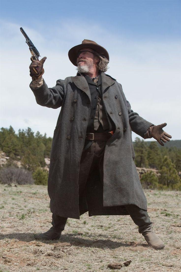 Jeff Bridges As Rooster Cogburn In True Grit Action Pose