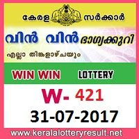 kl result yesterday,lottery results, lotteries results, keralalotteries, kerala lottery, keralalotteryresult, kerala lottery result, kerala lottery result live, kerala lottery results, kerala lottery today, kerala lottery result today, kerala lottery results today, today kerala lottery result, kerala lottery result 31.7.2017 Win win Lottery W-421, Win win Lottery , Win win Lottery  today result, Win win Lottery  result yesterday, win win Lottery w-421, win win Lottery 31.7.2017, 31-7-2017…