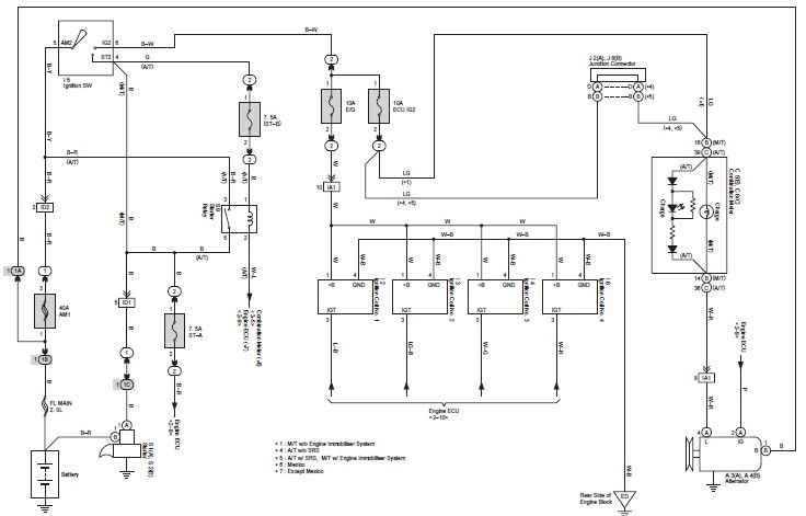 Toyota 2kd Ecu Wiring Diagram In 2021 Diagram Toyota Wire