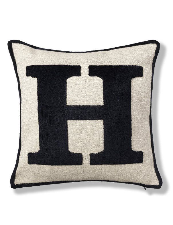 227 best images about the letter h on pinterest initials for Letter m cushion