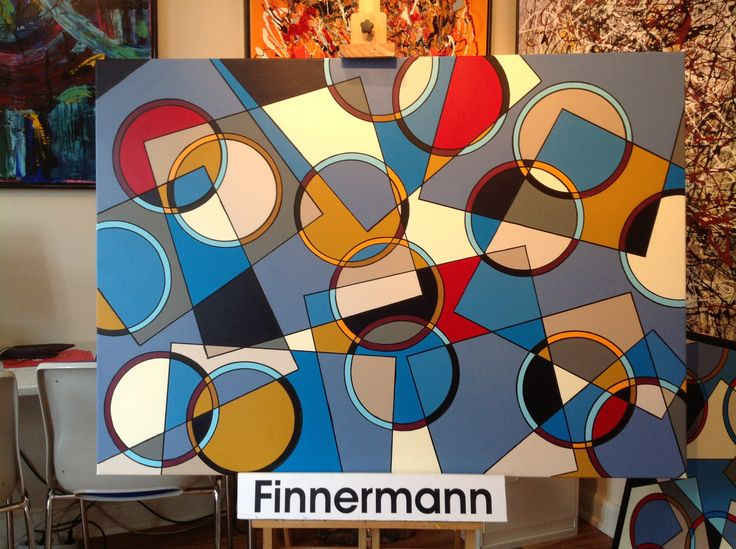 Circle and Square by FINNERMANN. NEW VER. 2.1 100  x 140 cm