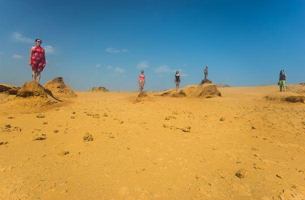 El desierto de la Guajira, Colombia. Foto Luis Barreto.