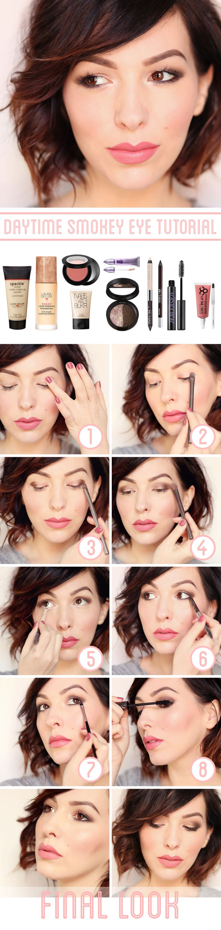 How to achieve the ever-challenging daytime smokey eye.