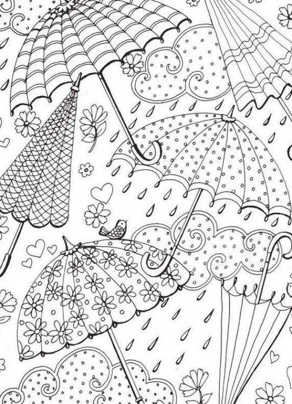 Hook it Bullet journal drawing idea Umbrella drawings  Umbrella